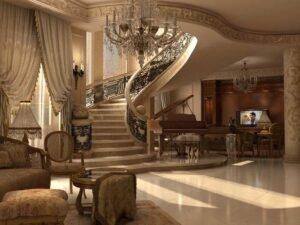 rumah klasik italia