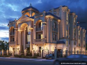 rumah klasik perancis