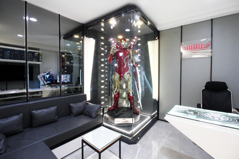 HOBBY ROOM & OFFICE INTERIOR DESIGN